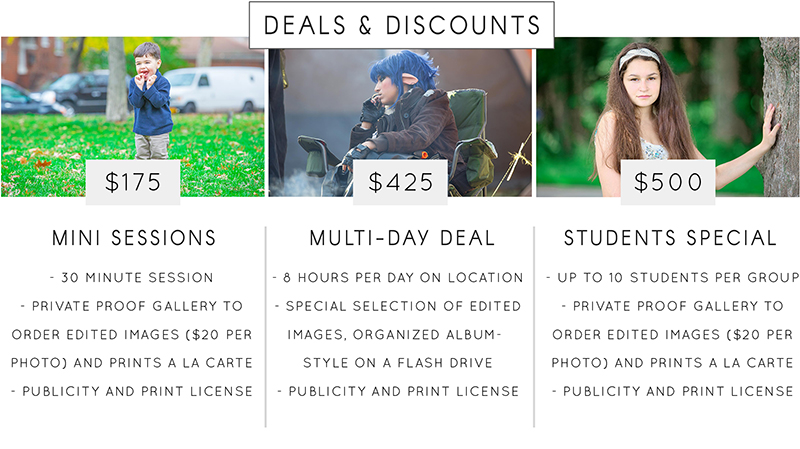 Photography Deals and Discounts